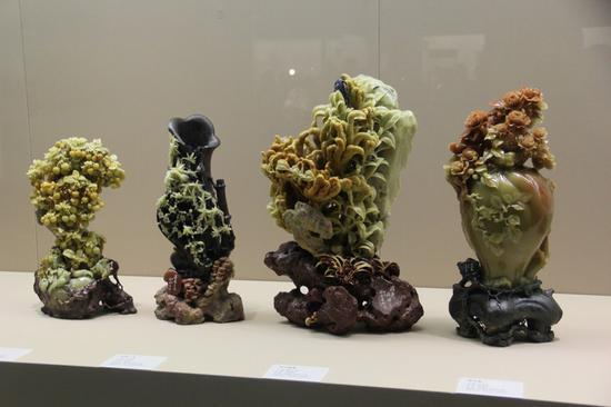 青田石雕博物馆地址_青田石雕艺术展在陕西历史博物馆开幕_新浪陕西_新浪网