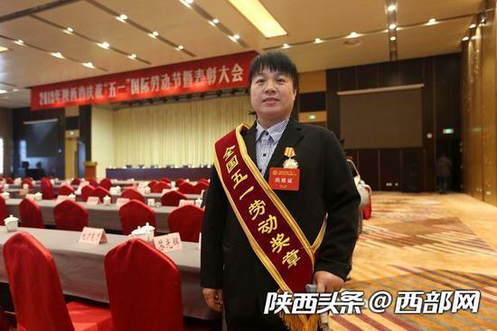 张小侠荣获全国五一劳动奖章。