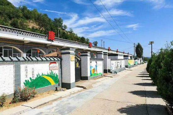 康坪村窑洞民宿。受访者供图