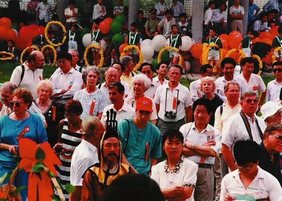 1991年,陕西历史博物馆正式建成开放。 资料照片