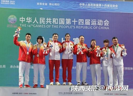 全运快讯丨内蒙古队李倩夺得十四运会拳击女子75公斤级金牌