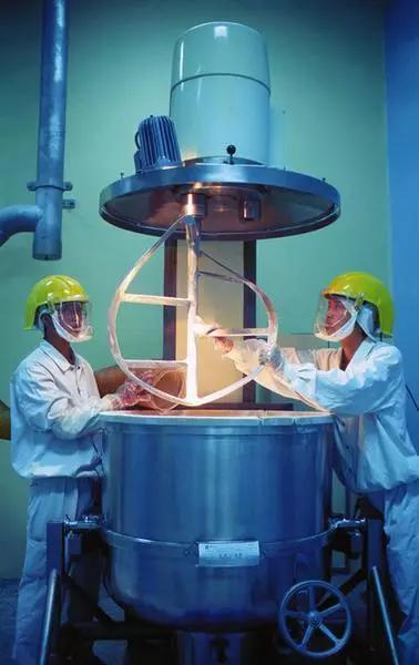 1985年,我省第一家中外合资企业——西安杨森制药有限公司建立。 潘科摄