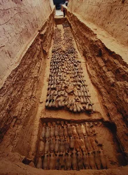 汉阳陵博物馆是我国第一座地下遗址博物馆。 孙进摄
