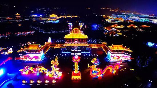 大唐芙蓉園擬4月起每周日為西安市民開放圖片