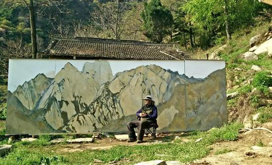 《华山十年——田学森油画展》即将亮相中国美术馆