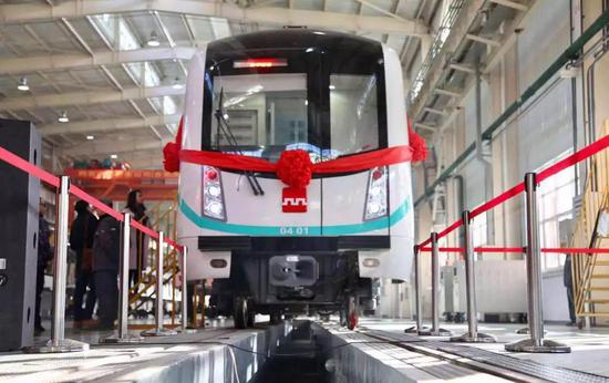 西安地铁4号线车辆