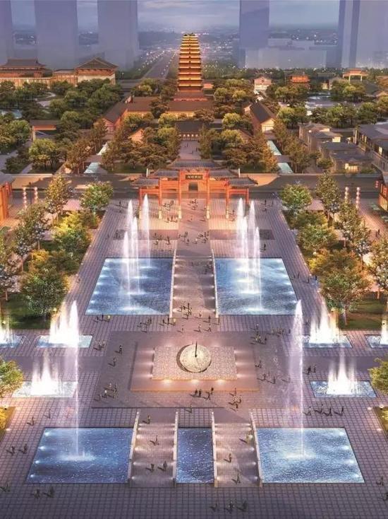 濮阳县老城区_新都老城区未来规划图_平面设计图
