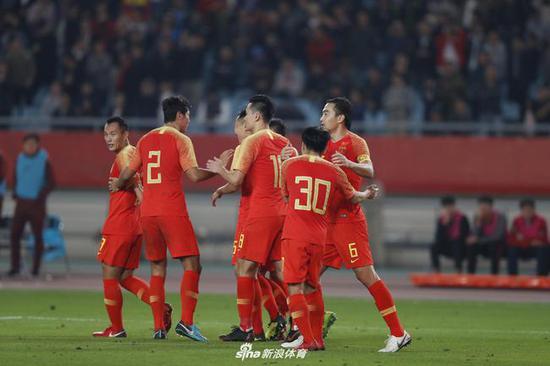 国足世界排名上升