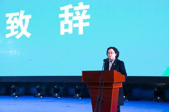 青海省文化和旅游厅非物质文化遗产处处长朱桂英