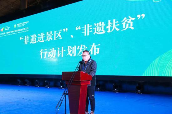 北京东城区非遗保护中心主任、北京京城非遗人才创新发展联盟秘书长杨建业