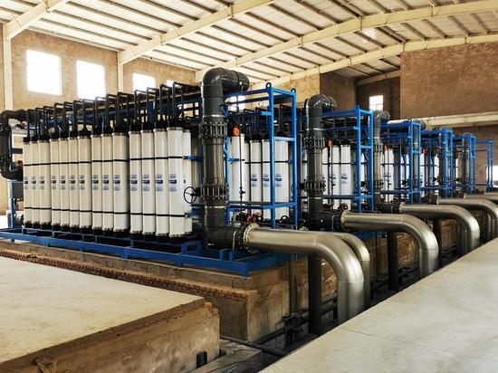 宜川县城2万吨供水工程