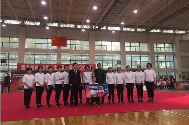 西北政法大学第二届比亚迪杯健身操与啦啦操大赛成功举办