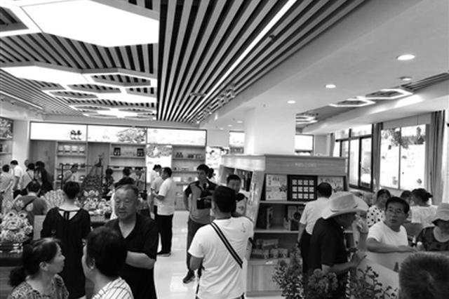 渭南临渭有了扶贫超市 拓宽销售渠道实现产销一体
