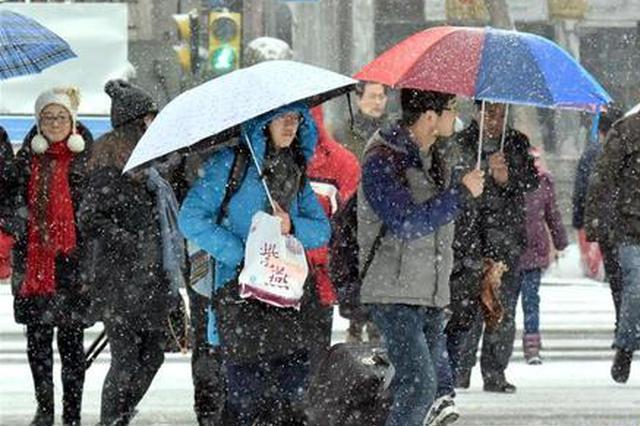 省气象台发布大风降温降水(雪)消息 西安将迎降雪