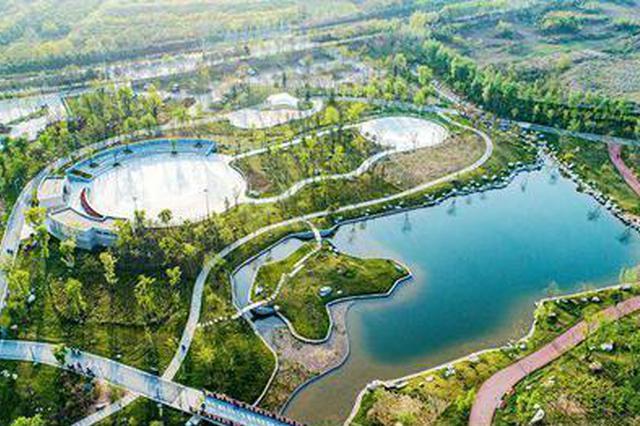 八月长安_长安公园今开园 西安城南又添网红打卡地_新浪陕西_新浪网