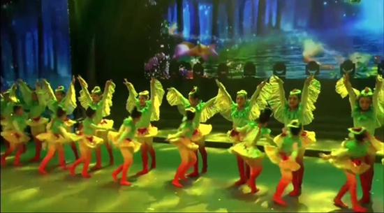 河北快三西飞一小舞蹈《布谷》在首届全国网络舞蹈大赛中获奖