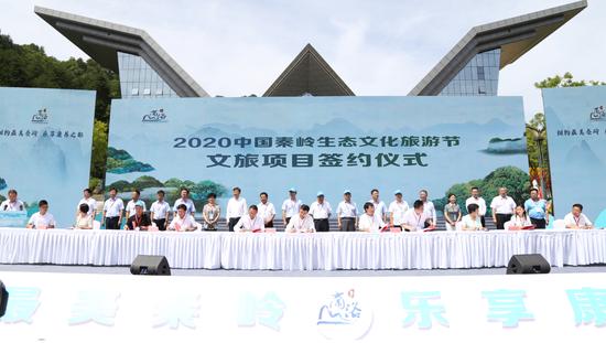 12個項目簽訂了合作協議