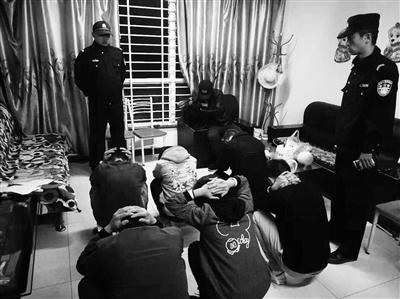 警方捣毁疑似传销窝点,控制涉传人员
