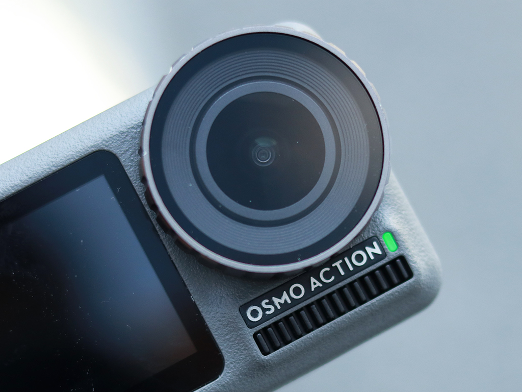 Evaluation of Osmo Action Moving Camera in Dajiang: GoPro has a decent opponent at last