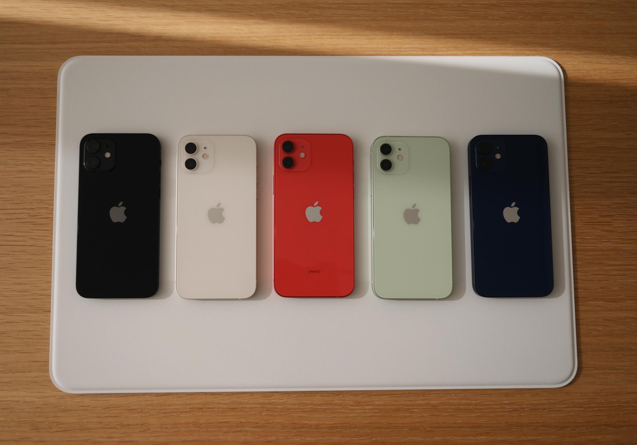 如果说iPhone 12气质仿佛是洋溢青春的男团女团
