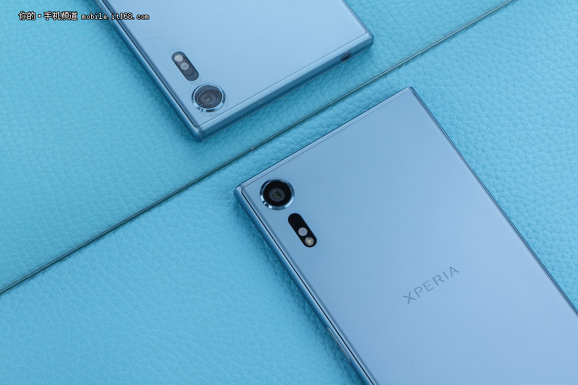 清爽?#24863;牧?索尼Xperia XZs冰蓝色真机实拍高清图赏