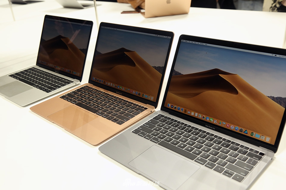 苹果新MacBook Air现场实拍图赏:更窄的边框之内,