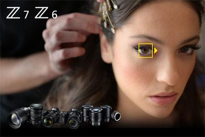 尼康Z6&Z7发布全新固件 全面开启眼部对焦功能