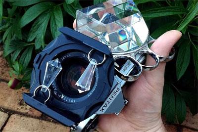 妙用小道具 三棱镜让照片像科幻电影一样炫酷