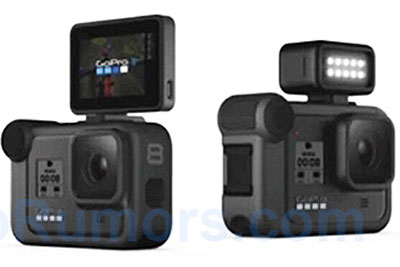 GoPro Hero 8运动相机外观及规格曝光
