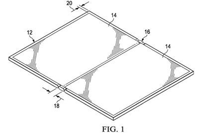 专利暗示戴尔正在打造折叠屏PC ?#21307;?#38142;部分很窄