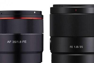 森养全新35mm F/1.8 FE或售359欧元