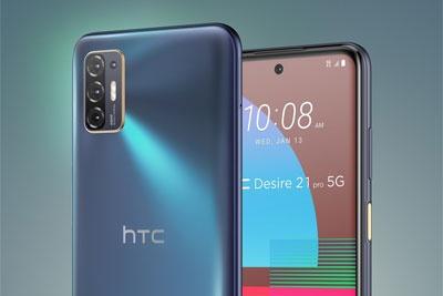 HTC Desire 21 Pro正式发布:骁龙690,5000mAh电池,约合2768元