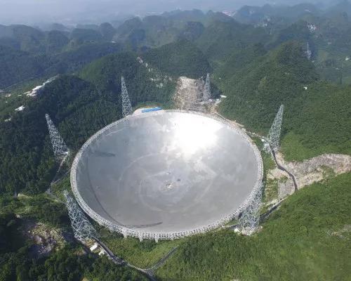"""中国""""天眼"""" 供图:中国科学院国家天文台"""