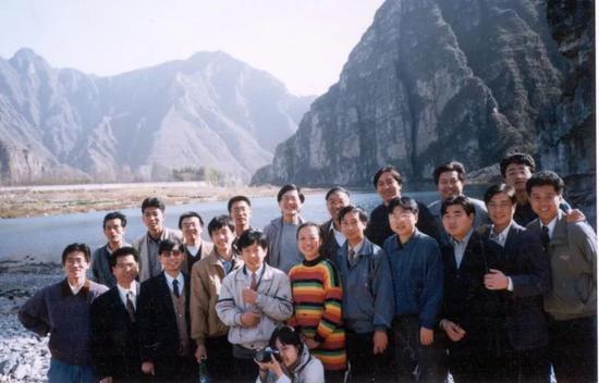 1995年微机事业部团建