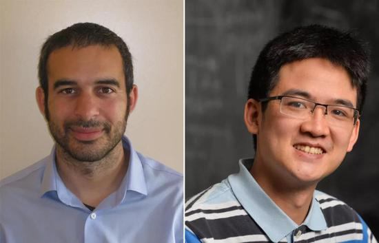 这篇论文的两位作者:达弗莫斯(左)和卢克(右)