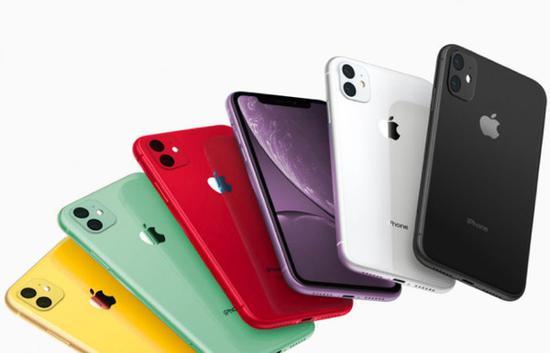 iPhone XR 2可能的颜色选择(图源eprice)
