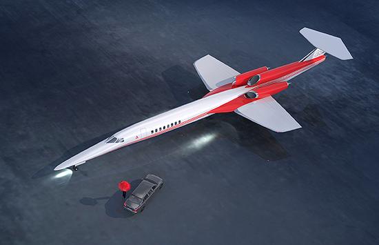 (Aerion Supersonic的AS2渲染圖圖源:Aerion)