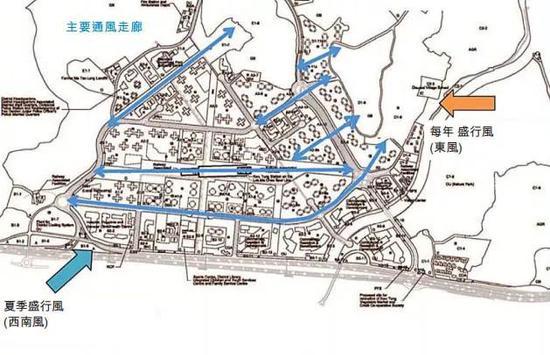 古洞北新展开区通风走廊 | 香港政府(2015)