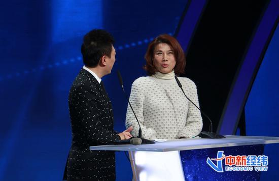 格力电器董事长兼总裁董明珠 中新经纬摄