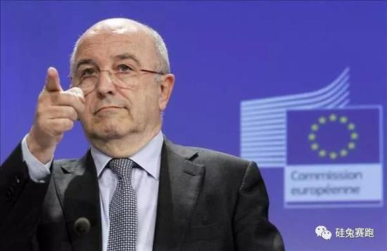 欧盟反垄断专员乔奎因•阿尔穆尼亚