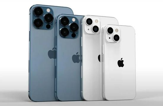 """▲""""iPhone 13""""系列概念图"""