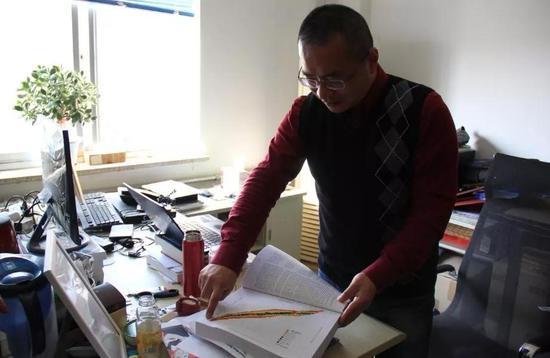王猛研究员(图片来源:近代物理所提供)