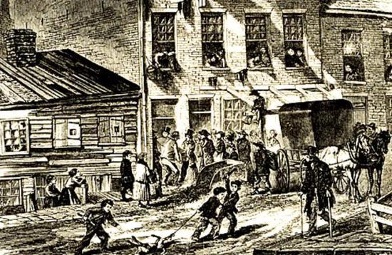 1800年代的约克城