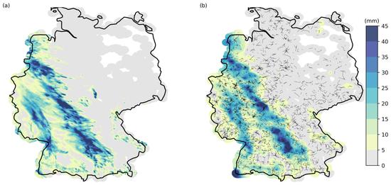下雨减弱手机信号, 科学家以此反推德国降雨量分布图
