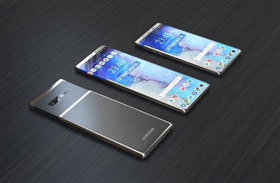 三星新的滑盖手机专利曝光,或将搭载于Galaxy S11设计上