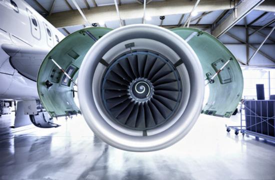 圖:航空發動機