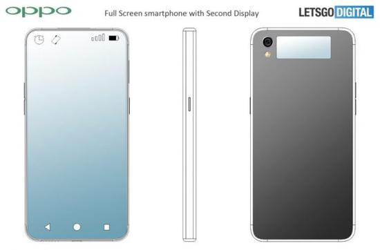 100%屏占比手机曝光 OPPO全屏幕手机专利公布