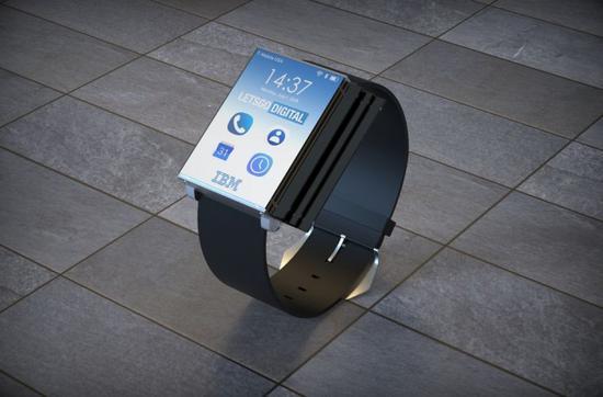 手表、手机和平板三重折叠转变