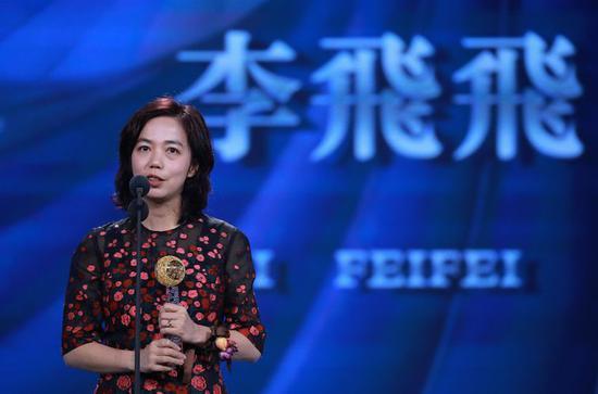 李飞飞。来源:视觉中国