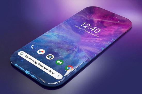 三星Galaxy One有望推出 采用四邊弧形屏幕+頂部和底部的天線